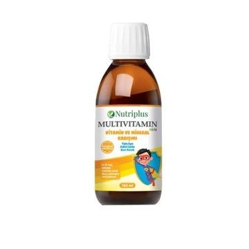 Multiwitamina dla dzieci o smaku pomarańczowym