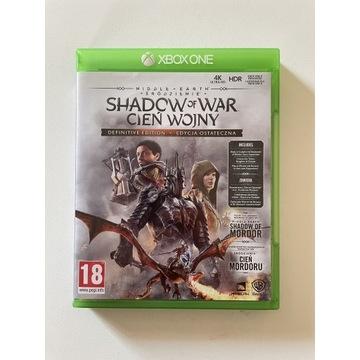 Cień Wojny Definitive Edition PL Xbox One Series