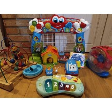 zestaw zabawek dla dziecka fisher price i inne
