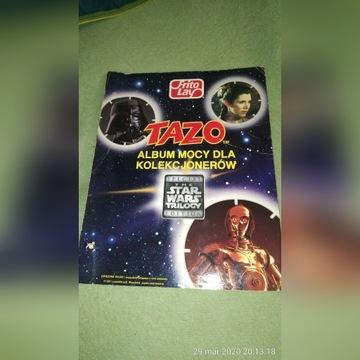 Kolekcja TAZOS Walkers Star Wars - WSZYSTKIE album
