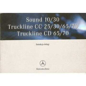 Instrukcja obsługi Mercedes-Benz Sound 10/30