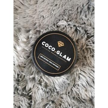 Coco Glam Wybielający proszek do zębów pasta