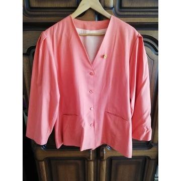 Komplecik: elegancki żakiet + spódnica, roz. 48-50