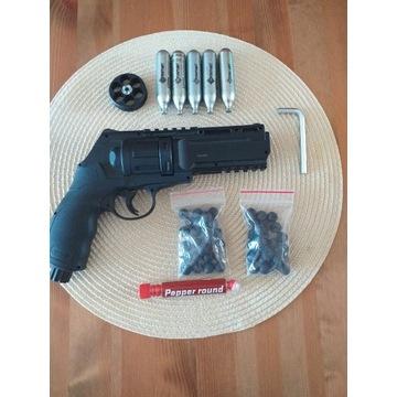 Rewolwer T4E HDR50 na kule gumowe/pieprzowe ZESTAW