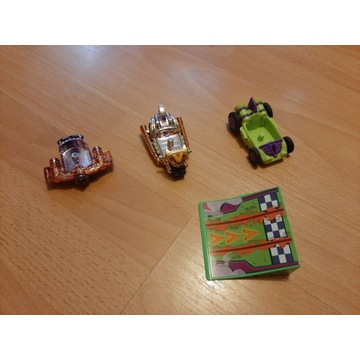 Super Zings Złote Pojazdy i rampa