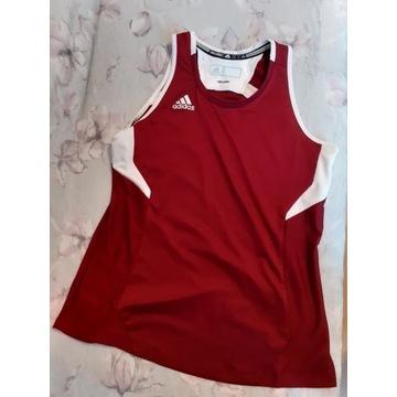 koszulka damska Adidas do biegania