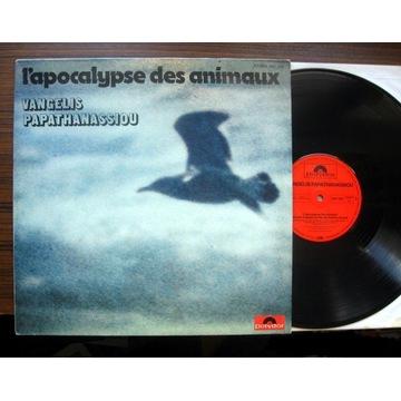 VANGELIS - L'apocalypse des animaux LP Polydor