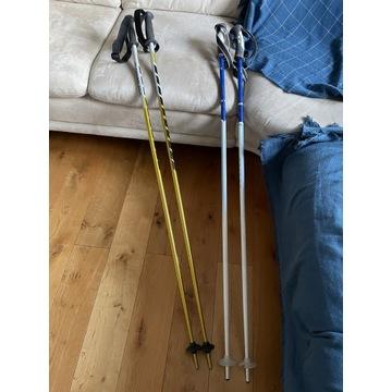 Kijki narciarskie Salomon 120cm oraz Atomic 125cm
