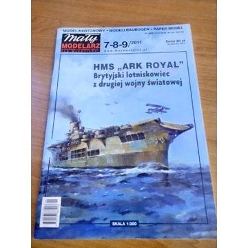 Model kartonowy Mały Modelarz Ark Royal