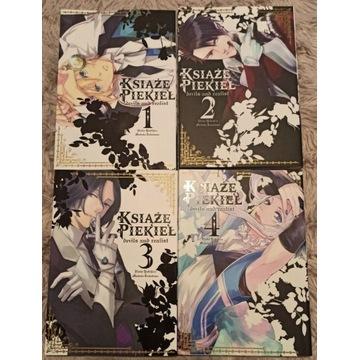 Książę piekieł manga cztery tomy