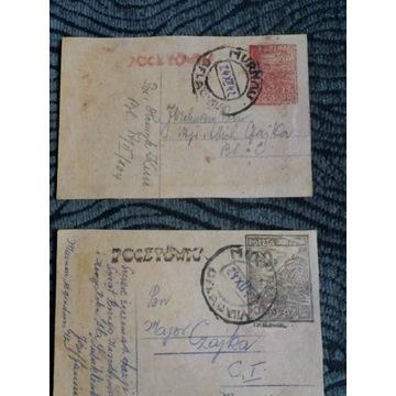 Kartki Pocztowe z obozu w Murnau
