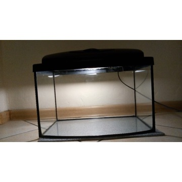 Akwarium 25 l + pokrywa LED