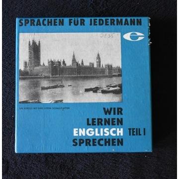 Płyta winylowa do nauki angielskiego