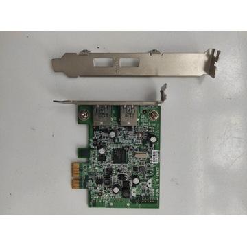 Kontroler karta DELL USB 3.0 U3N2D 0FWGJ8 +Low