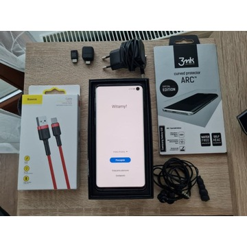Samsung Galaxy S10 128gb + dużo dodatków!
