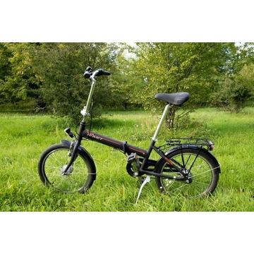 """rower ROMET WIGRY 4, 2019 czarno-czerwony 11"""""""