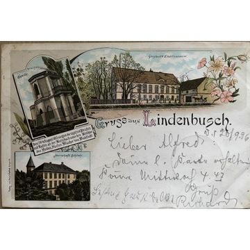 Lipce, Lindenbusch, Legnica, 1896 rok