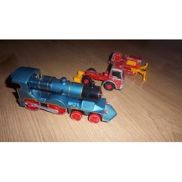 matchbox traktor, i ford ,pociąg