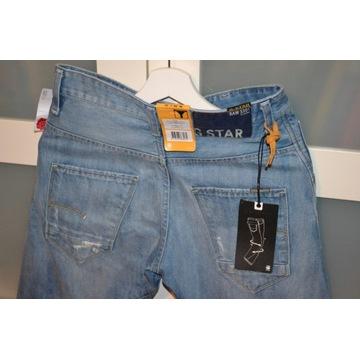 Stylowe Spodnie Włoskie G-Star RAW ARC 3D 28/32