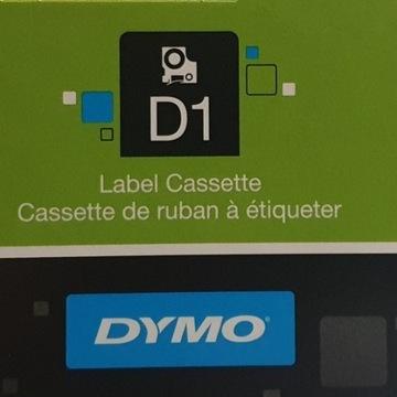 Oryginalna Taśma DYMO D1 40918 9mmx7m żółta/czarna
