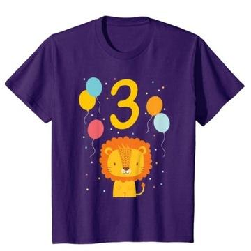 koszulka dziecięca 3 urodziny