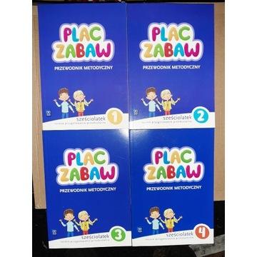 Plac Zabaw Sześciolatek Przewodniki Metodyczne +CD