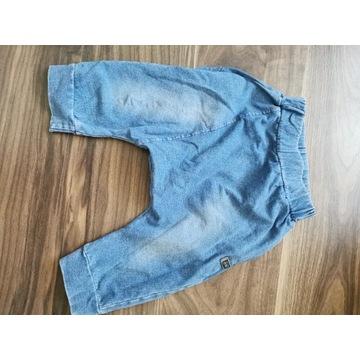 Spodnie baggy ala  jeans szorty Reserved roz 92/98