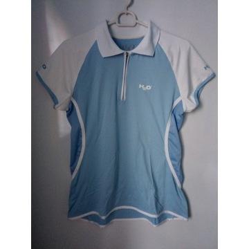 H2O niebieska sportowa koszulka rL