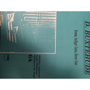 D. Buxtehude-Komm heiliger Geist Herre Gott Organy