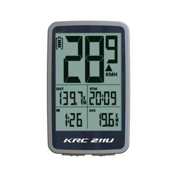 Licznik rowerowy Kross KRC211U przewodowy 11fukcji