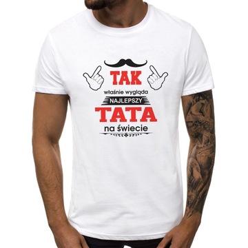 Koszulka t-shirt dzień ojca tata taty prezent