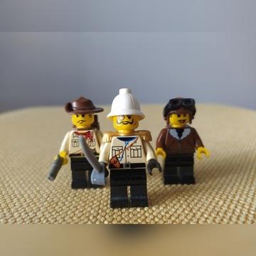 LEGO. Figurki z zestawu Indiana Jones
