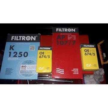 Zestaw filtrów Filtron KIA VENGA 1.6 CRDI 2010r