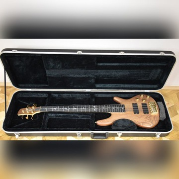 Gitara basowa Witkowski aktywna 5 strunowa