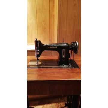 Maszyna do szycia MINERVA - napęd nożny