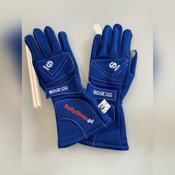 Rękawiczki Wyścigowe Rajdowe Sparco FIA Hom