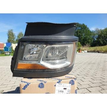 Lampa lewa przód SCANIA R410 2017