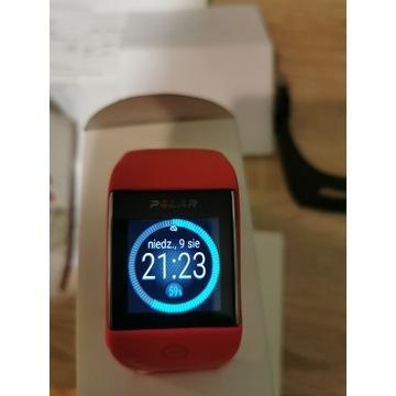 zegarek Polar M600 - dwa paski, gwarancja
