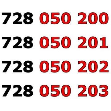 728 050 20x ŁATWY ZŁOTY NUMER STARTER x 4