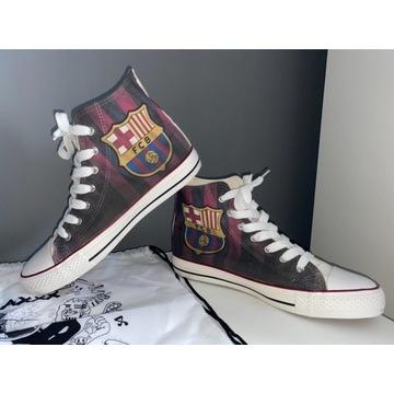 Buty/trampki z logo FC Barcelona r.43 gratis worek