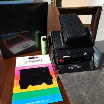 biały kruk! Polaroid sx-70 na wkłady i-Type