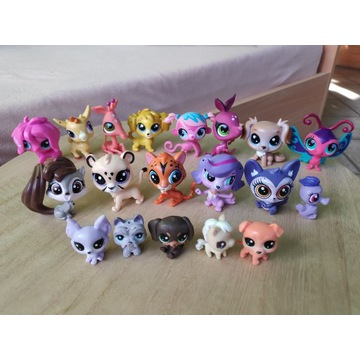 LPS Littlest Pet Shop zestaw 19 figurek