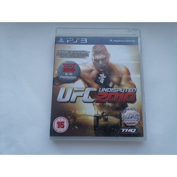 Gra na konsolę Ps3 UFC2010