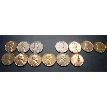 1 CENT USA Lincoln Cent 1959 -1982