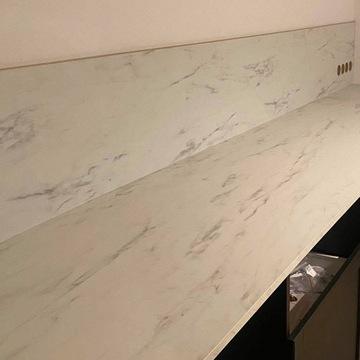 Blat kuchenny, laminat, MARMUR, 63,5cm (Ikea)