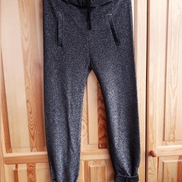 Spodnie Simple 36 metaliczne