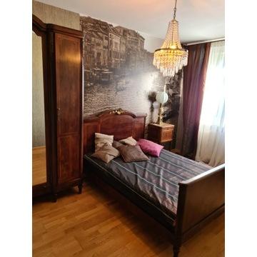 Komplet mebli szafa łóżko stolik ANTYKI sypialnia