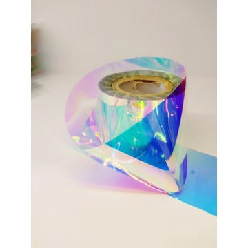 Folia Transparentna ROLKA Holograficzn do paznokci