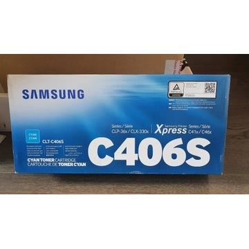 TONER SAMSUNG CLP-360/365 CYAN CLT-C406S
