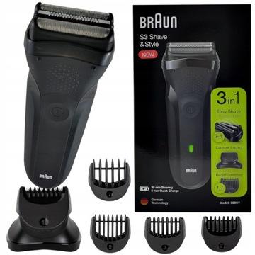 Golarka BRAUN 300BT Series 3 Shave & Style 3w1